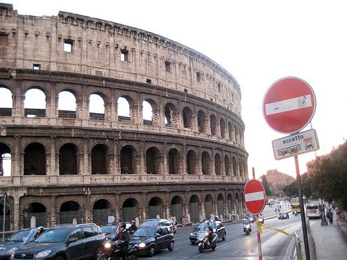Колізей, Італія сьогодні